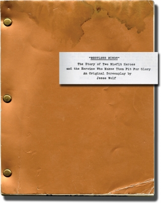 Restless Minds (Original screenplay for an unproduced film). Jesse Wolf, screenwriter