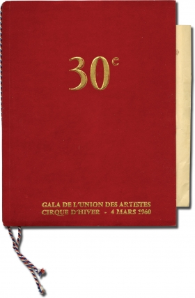 30th Gala of the Union of Artists [XXXe Gala de l'Union des Artistes] (Original French program...