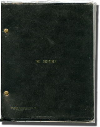 The Godfather (Original screenplay and production archive for the 1972 film). Francis Ford...