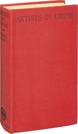 Artists in Crime (First Edition). Ngaio Marsh
