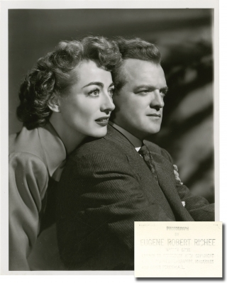 Possessed (Two original photographs from the 1947 film). Curtis Bernhardt, Ranald MacDougall...