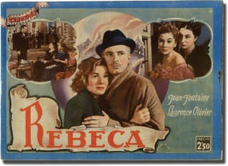 Rebecca [Rebeca] (Spanish photoplay edition for the 1940 film). Alfred Hitchcock, Michael Hogan...