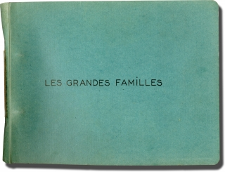 The Possessors [Les grandes familles] (Collection of 33 original keybook contact sheets from the...