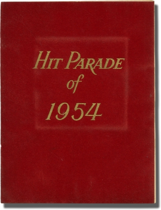 Hit Parade of 1954 (Vintage Pressbook, 1954). Ltd United French Film.