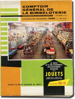 Comptoir general de la bimbeloterie (Original French toy company sales catalogue and supplements,...