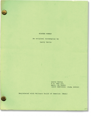 Winter Woman (Original screenplay for an unproduced film). Larry Davis, screenwriter