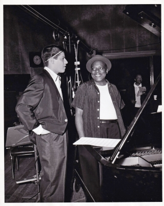 Cinderfella (Original photograph of Jerry Lewis and Count Basie on the set of the 1960 film)....
