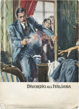Divorce Italian Style (Original program for the 1961 film). Pietro Germie, Divo Cavicchioli,...