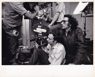 Panic In Needle Park (Original photograph from the set of the 1971 film). Jerry Schatzberg, James...