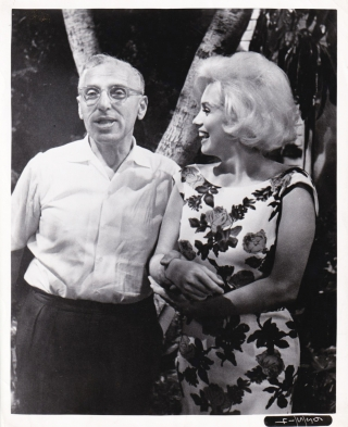Something's Got To Give (Original photograph from the unfinished 1962 film). George Cukor, Sam...