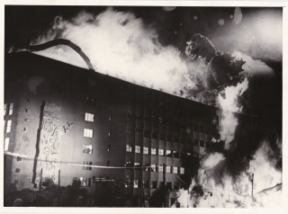 Godzilla (Original double weight photograph from the 1954 film). Ishiro Honda, Shigeru Kayama...