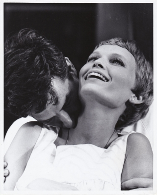 Rosemary's Baby (Two original candid photographs from the 1968 film). Roman Polanski, Ira Levin,...