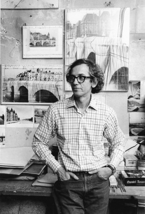 Original photograph of Christo Vladimirov Javacheff, 1985