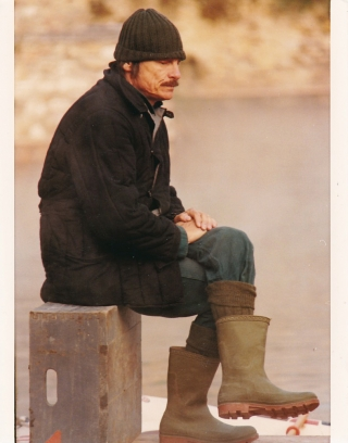 Nostalgia [Nostalghia] (Original photograph from the set of the 1983 film). Andrei Tarkovsky,...