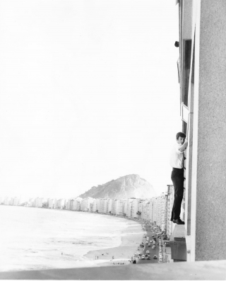 That Man From Rio [L'Homme de Rio] (Original photograph from the 1964 film). Jean Paul Belmondo,...