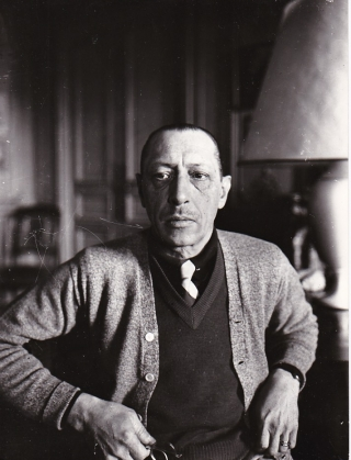 Original photograph of Igor Stravinsky, 1934. Igor Stravinsky, Albert Harlingue, subject,...