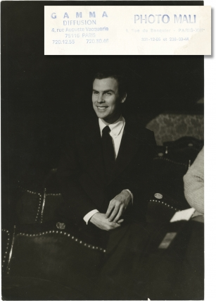 Original photograph of Robert Wilson, 1974. Robert Wilson, subject