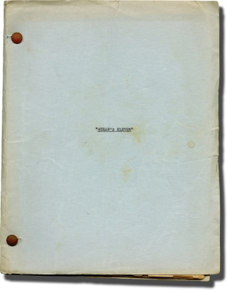 Ocean's Eleven [Ocean's 11] (Original screenplay for the 1960 film). Lewis Milestone, George...