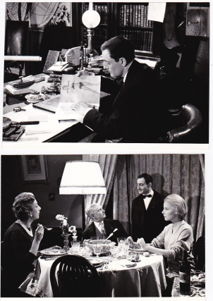 The Suitor [Le Soupirant] (Collection of four original photographs from the 1962 film). Pierre...