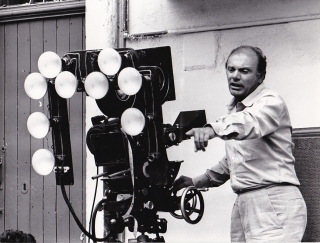 Salvatore Giuliano (Two original photographs from the set of the 1962 film). Francesco Rosi,...
