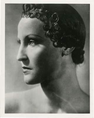 Queen of Atlantis (Original press photograph from the 1932 film). Georg Wilhelm Pabst, Pierre...