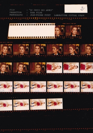 Choice of Arms [Le Choix Des Armes] (Two original contact sheets from the 1981 film). Alain...