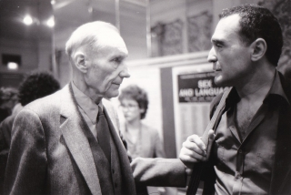 Original photograph of William Burroughs and John Giorno, 1981. William Burroughs, John Giorno,...
