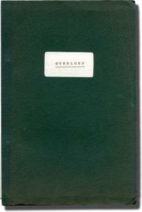 Overlord (Original screenplay for the 1975 film). Stuart Cooper, Christopher Hudson, Nicholas...