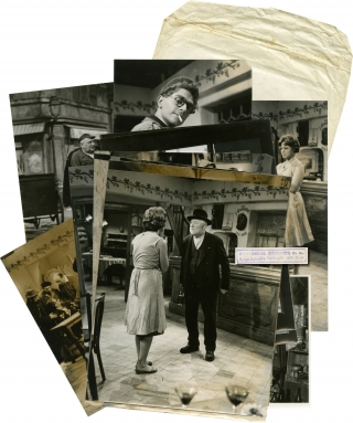 The Magnificent Tramp [Archimede, le clochard] (Collection of 11 original photographs from the...