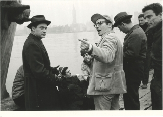 A View From The Bridge (Two original photographs from the 1962 film). Sidney Lumet, Arthur...