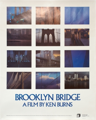 Brooklyn Bridge (Original poster for the 1981 film documentary). Ken Burns, David McCullough,...