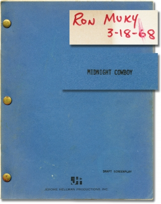 Midnight Cowboy (Original screenplay for the 1969 film, working copy belonging to still...