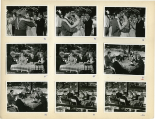 Rue de Paris [Rue des Prairies] (Collection of 322 original photographs for the 1959 film). Denys...
