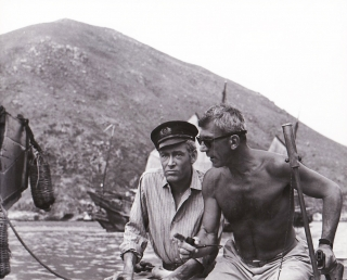 Lord Jim (Original photograph from the set of the 1965 film). Richard Brooks, Joseph Conrad,...