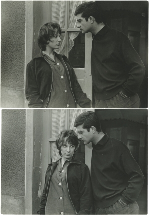 Le Beau Serge (Two original photographs from the 1958 film). Claude Chabrol, Jean-Claude Brialy...