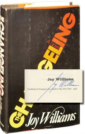 The Changeling (Signed First Edition). Joy Williams.