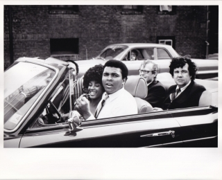 Original double weight photograph of Muhammad Ali, 1971. Muhammad Ali, subject