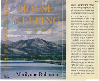 Housekeeping [House Keeping] (First Edition, TRIAL DUST JACKET ONLY). Marilynne Robinson.