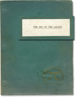 The Day Of The Locust (Original screenplay for the 1975 film). John Schlesinger, Nathanael West,...
