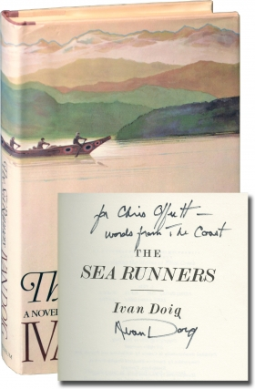 The Sea Runners (First Edition, inscribed to author Chris Offutt). Ivan Doig