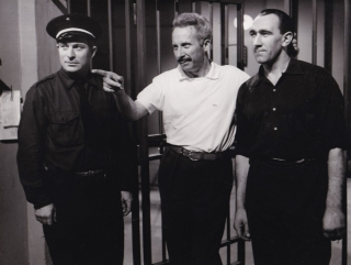 Le Trou [The Hole] (Original photograph from the set of the 1960 film). Jacques Becker, Jose...