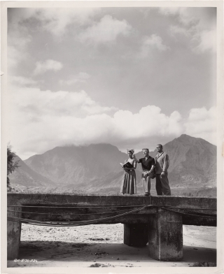 Miss Sadie Thompson (Original photograph from the set of the 1953 film). Curtis Bernhardt, Harry...