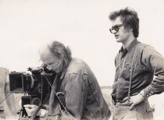 Kings Of The Road (Original photograph from the set of the 1976 film). Wim Wenders, Hanns...