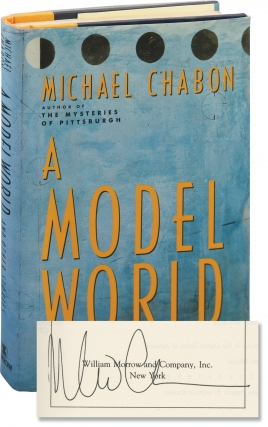 A Model World (First Edition, inscribed to author Chris Offutt). Michael Chabon