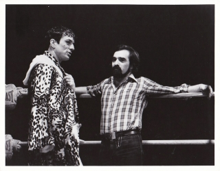 Raging Bull (Original photograph of Martin Scorsese and Robert DeNiro on the set of the 1980...