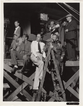 Borderline (Original photograph from the set of the 1950 film noir). William A. Seiter, Devery...