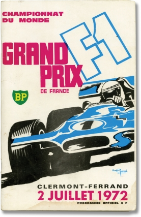 Archive of 19 vernacular photographs of the French Grand Prix, 1972. Auto Racing, French Grand Prix