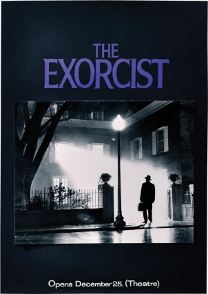 The Exorcist (Original poster maquette for the 1973 film). William Friedkin, Bill Gold, William...