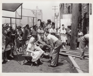 Music is Magic (Original photograph from the set of the 1935 film). George Marshall, Jesse Lasky...