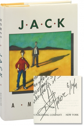 Jack (First Edition, inscribed to author Chris Offutt). A. M. Homes